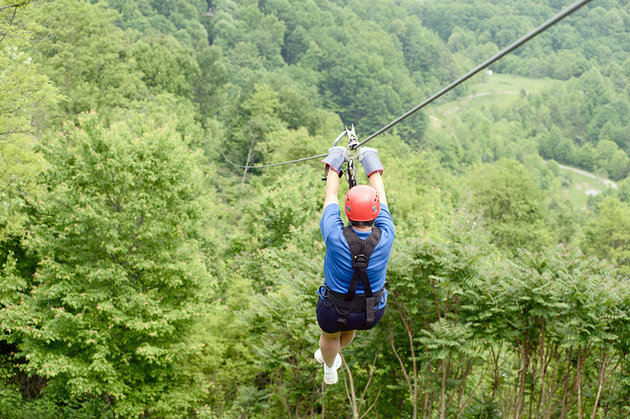west virginia outdoor adventures ziplining